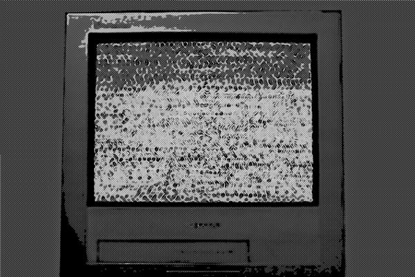 テレビのノイズ