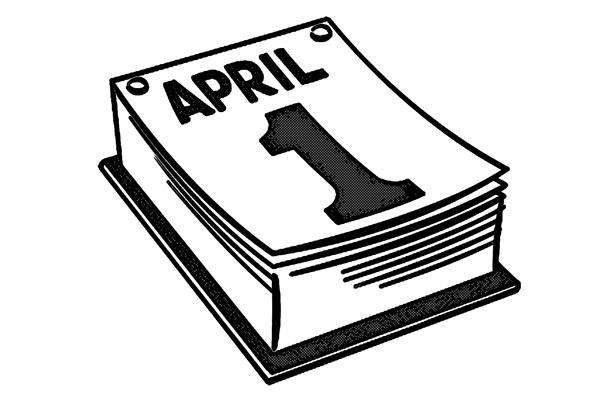 4月1日 エリプリルフール