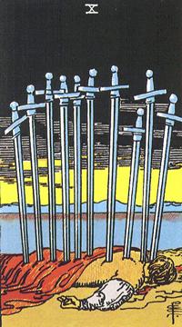 小アルカナの剣10