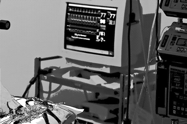 病院の機器
