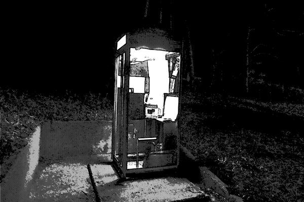 公衆電話 ボックス