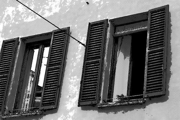 民家 部屋の窓