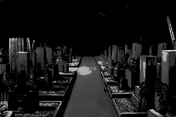 墓場 墓地