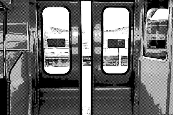 電車 ドア