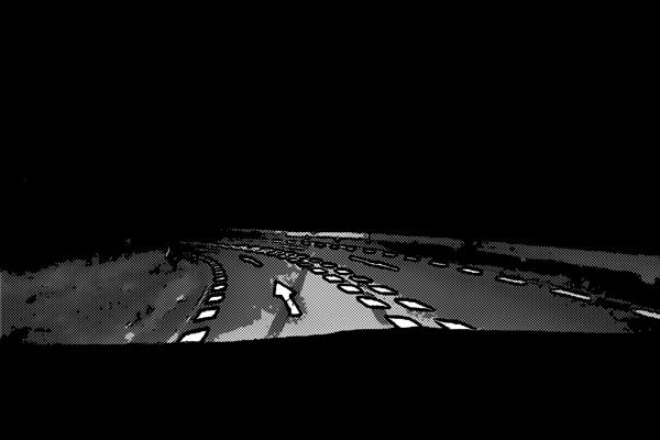 ドライブ 夜の山