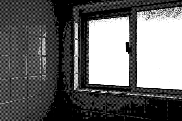 風呂場 小窓