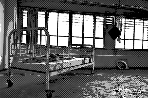 廃墟 病院