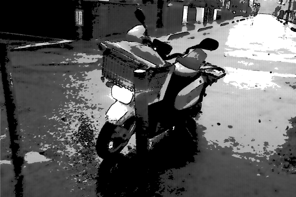 新聞配達 バイク