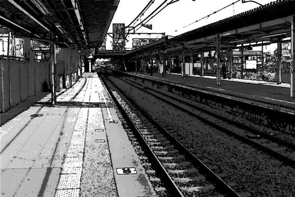 駅 ホーム