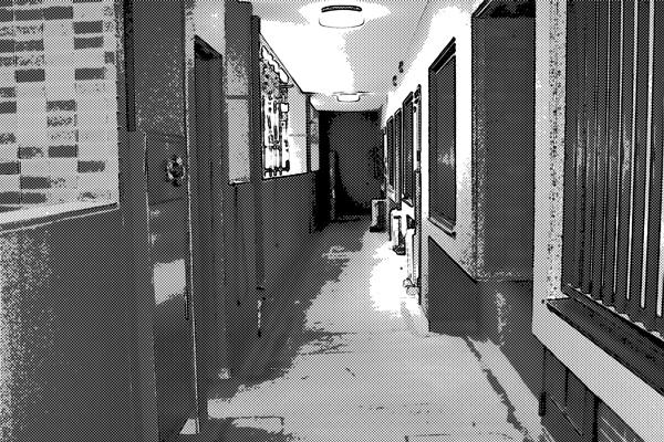 マンション廊下
