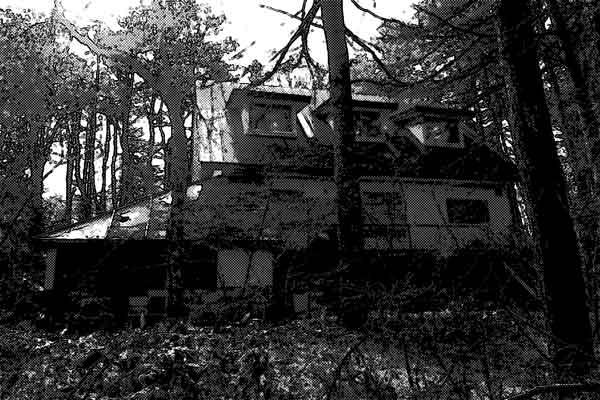 別荘 廃墟