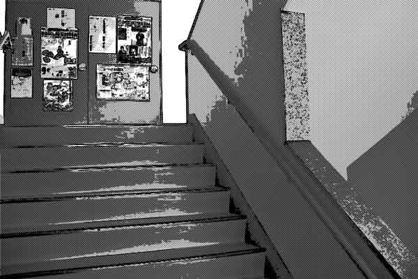 階段 学校