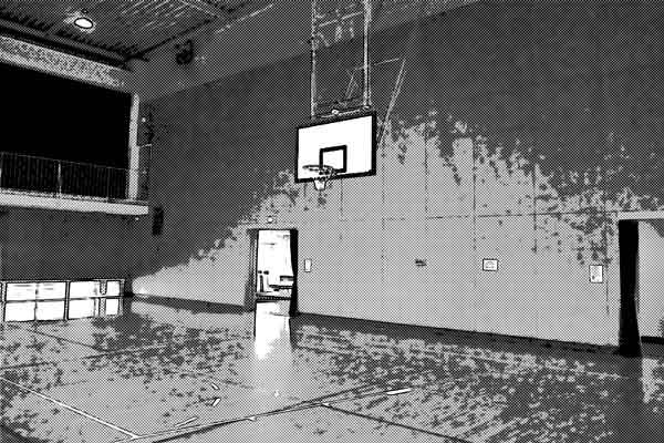 体育館の地下に殺人鬼が棲んでいる