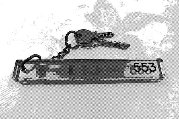 ホテルの鍵