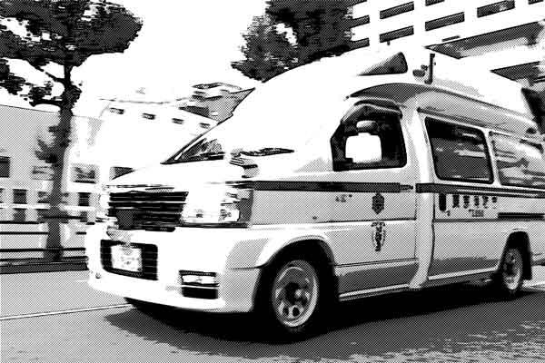 緊急病棟に運ばれてきた自殺失敗者