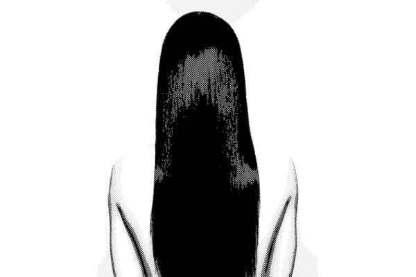 20年間まとわりつく長い髪の毛