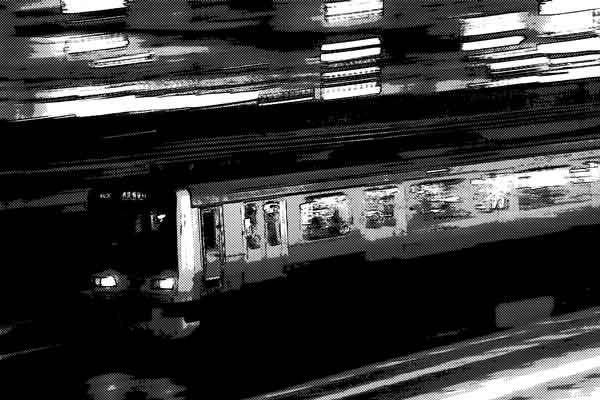 夜の満員電車で遭遇した怪奇