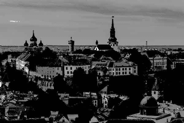 フィンランドの小さな町での気味悪い体験談