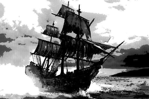 幽霊船を見た者だけが生き残るという伝説