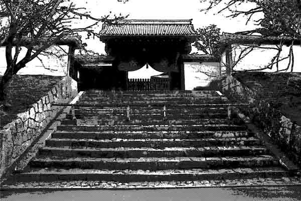 タクシー運転手に勧められた寺へ寄ってから